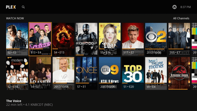 Plex launches its live TV service on Roku, with limited DVR functionality to start