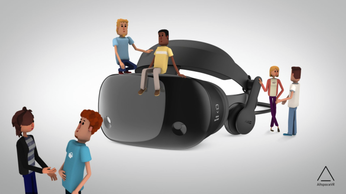Microsoft acquires social virtual reality app AltspaceVR