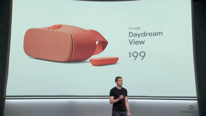 Google delivers minor updates to Daydream View headset, bumps up price to $99
