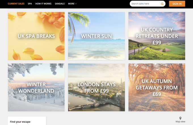 Secret Escapes, the members-only travel club, closing in on £50M Series D