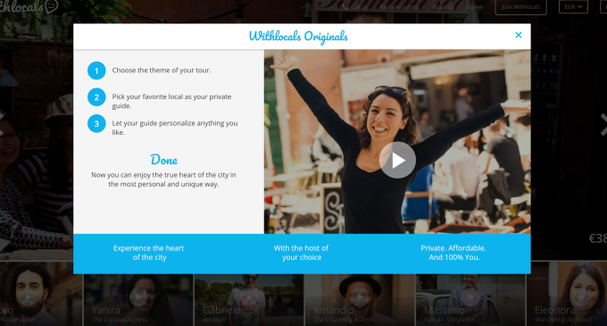Travel experiences marketplace Withlocals picks up $4.2M in Series A funding