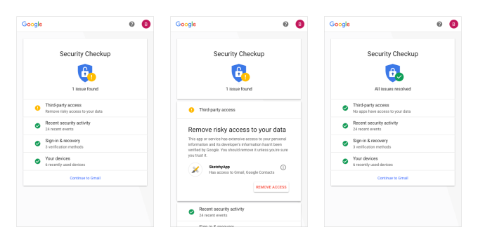 Google revamps its Security Checkup feature with personalized suggestions for your account
