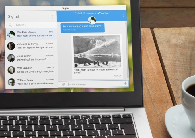 Signal escapes the confines of the browser with a standalone desktop app