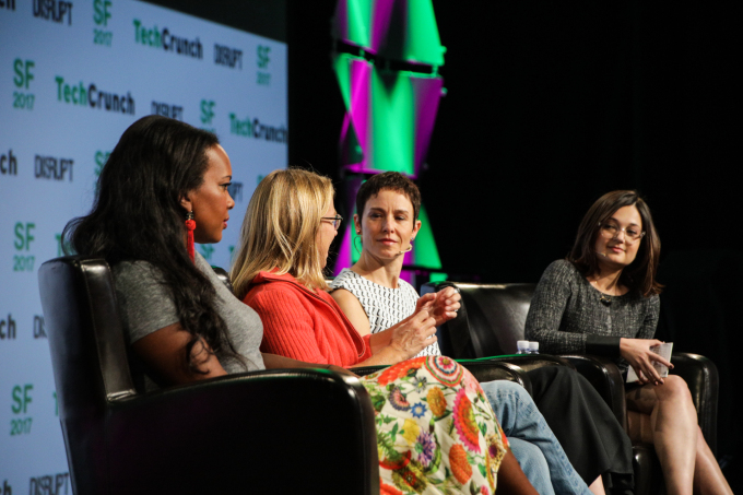 Tech leaders weigh in on diversity, inclusion and sexual harassment on stage at Disrupt