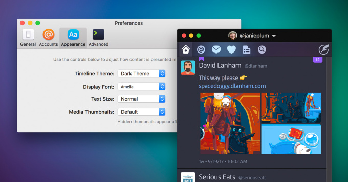 Twitterrific returns to Mac as a customizable Twitter client, but at twice the price of Tweetbot