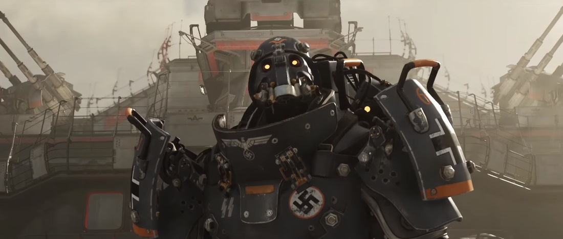 Wolfenstein 2: The New Colossus launch trailer takes on the KKK, Nazi robots and Hitler