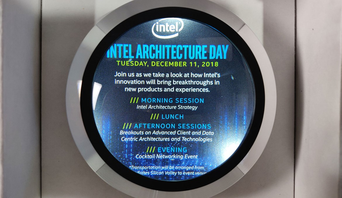 Intel Architecture Day 2018 promises talks about next-gen CPUs