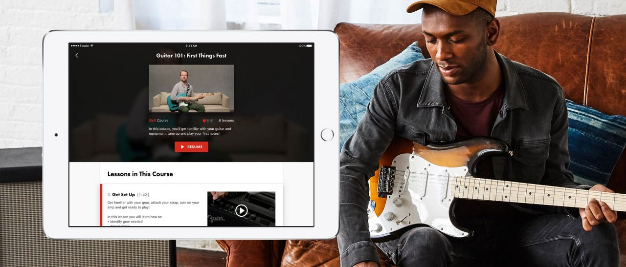 Why I wish I'd had Fender Play when I was a budding guitar hero