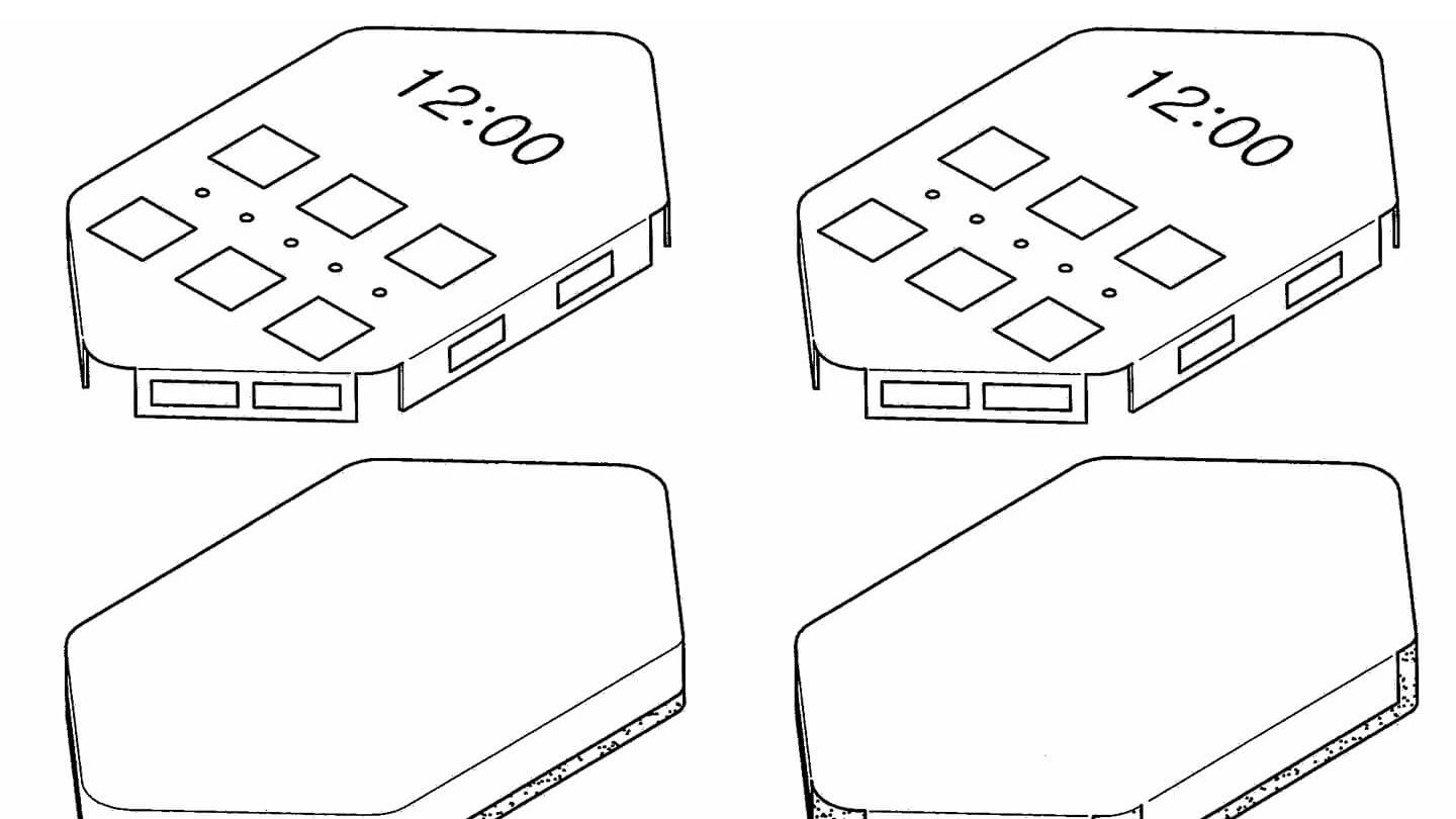 Samsung patents phone with a screen on nearly every side