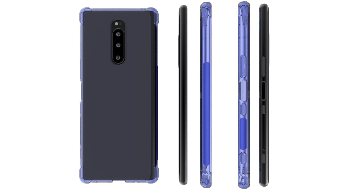 Leaked Sony Xperia XZ4 render gives us another look at the likely design